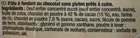 Fondant au chocolat sans gluten - Ingrediënten