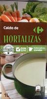 Caldo de hortalizas - Produit
