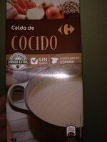 Caldo de cocido - Producto