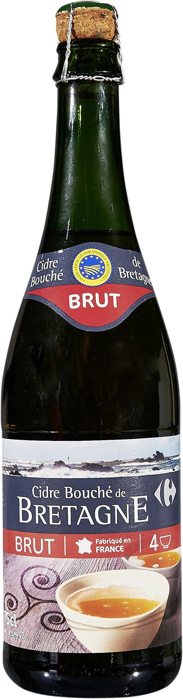 Cidre Bouché de Bretagne IGP Brut - Produit - fr