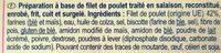 Nuggets de poulet - Ingredients - fr
