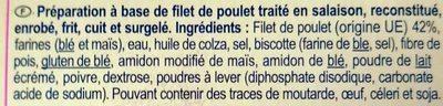 Nuggets de poulet - Ingredients