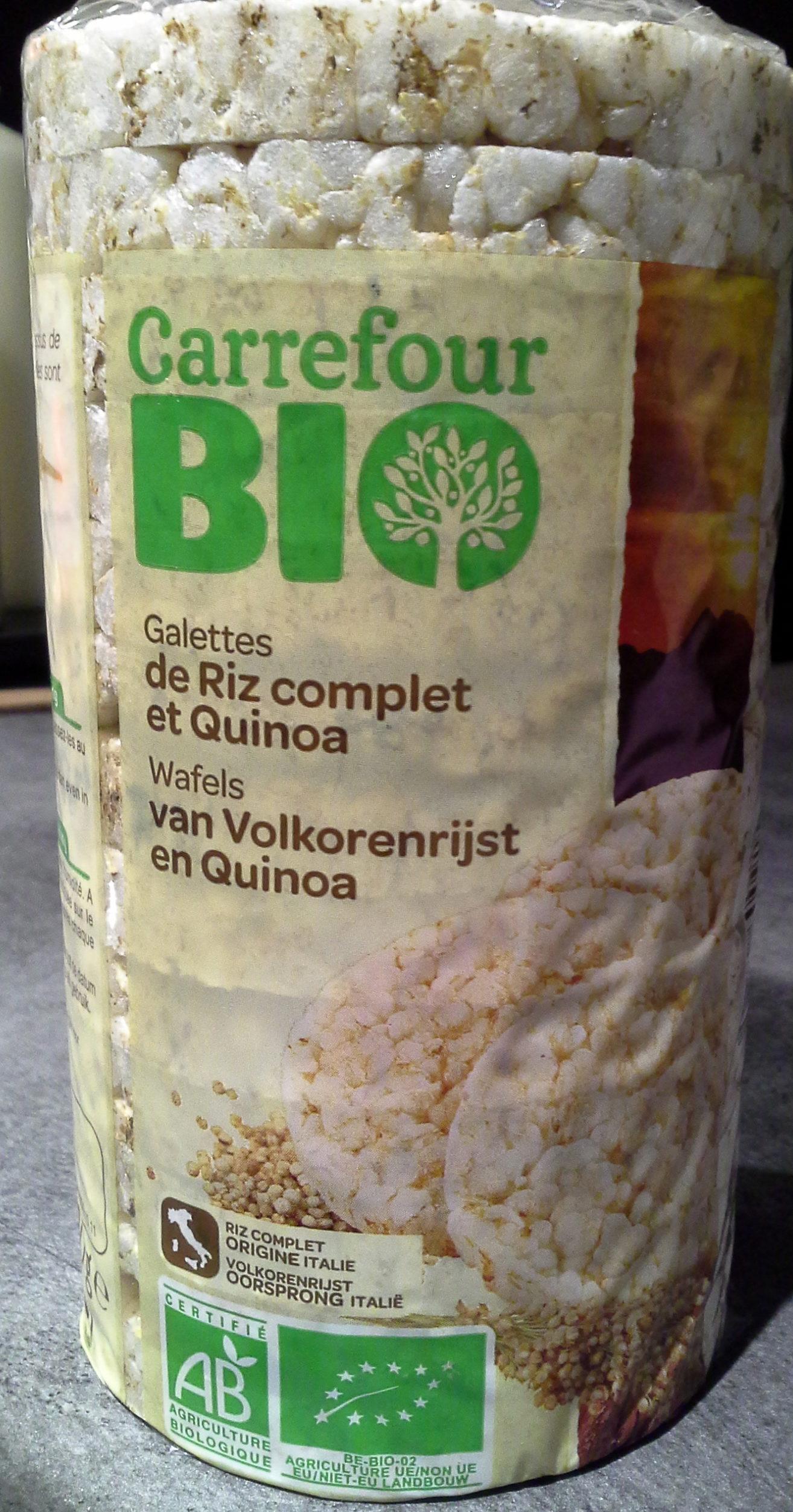 Galettes De Riz Complet et quinoa 100g - Product - fr