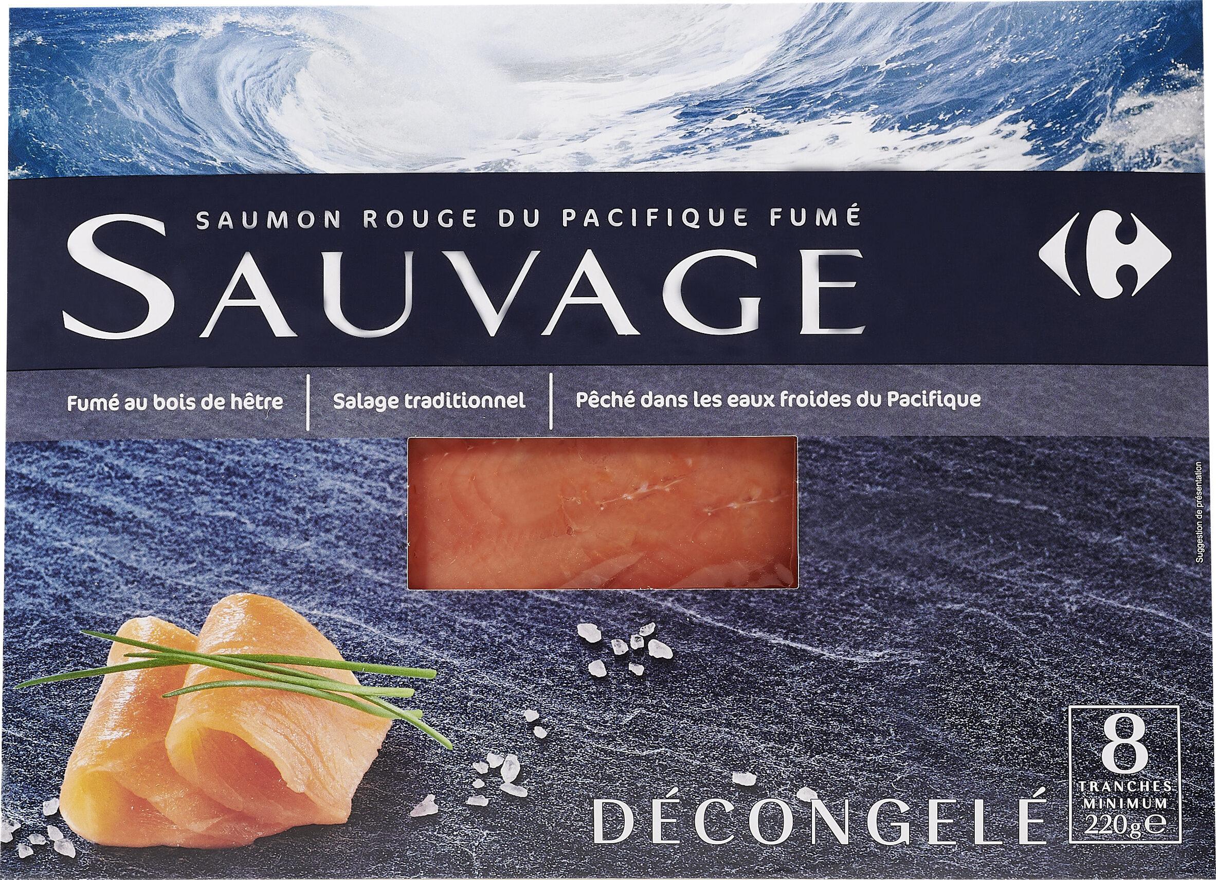 Saumon rouge du Pacifique fumé SAUVAGE - Produit - fr