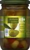 """Aceitunas verdes partidas aliñadas """"Carrefour"""" Variedad Manzanilla - Producte"""