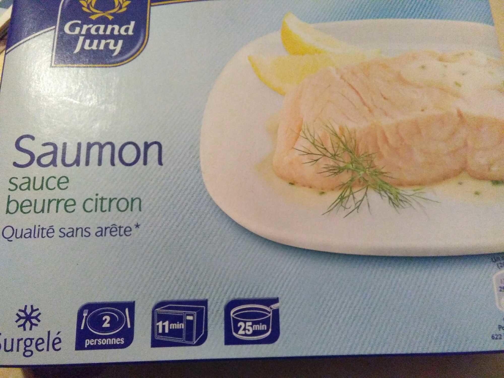 Saumon Sauce Beurre Citron Surgele Grand Jury 400 G E 2 200 G