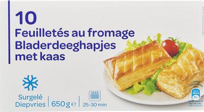 10 Feuilletés au fromage - Produit - fr