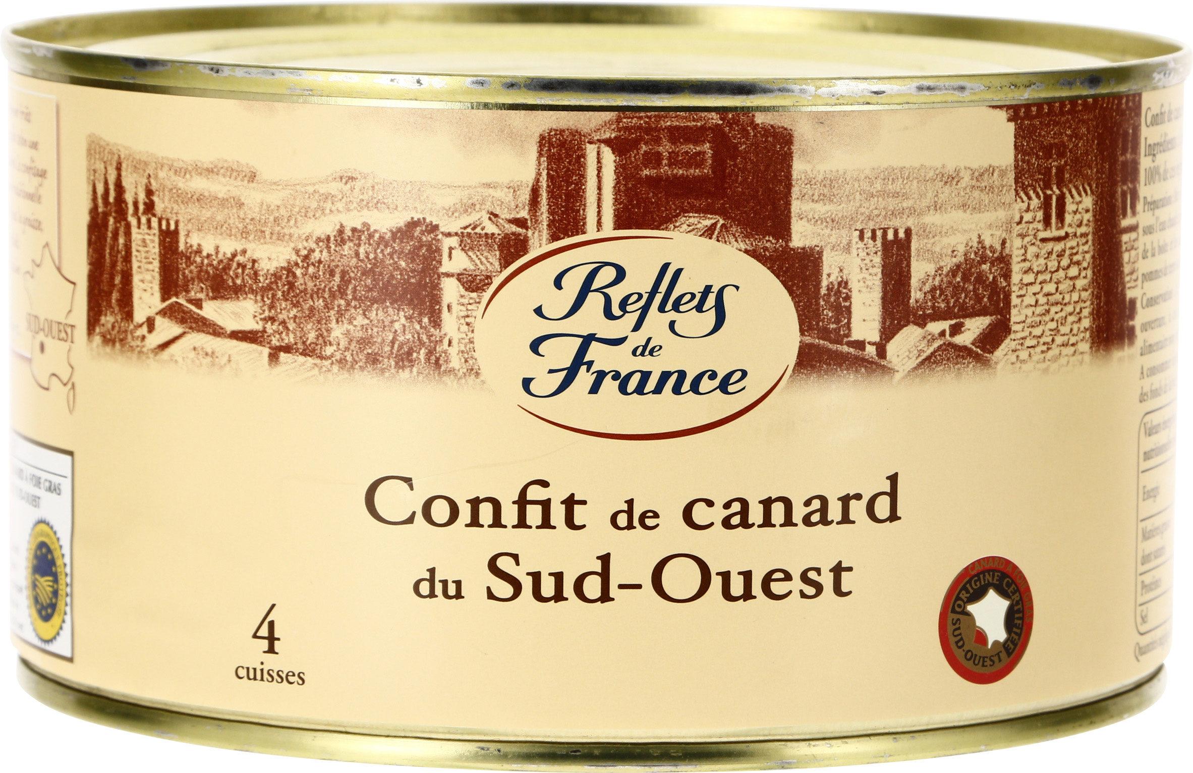 Confit de canard du Sud-Ouest - Product - fr