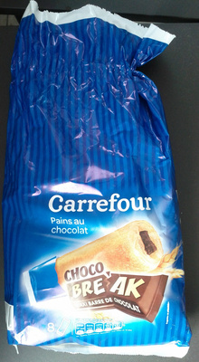 Pains au chocolat Choco Break (x 8) 280 g - Carrefour - Product