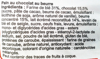 Pains au chocolat Choco Break (x 8) 280 g - Carrefour - Ingredients