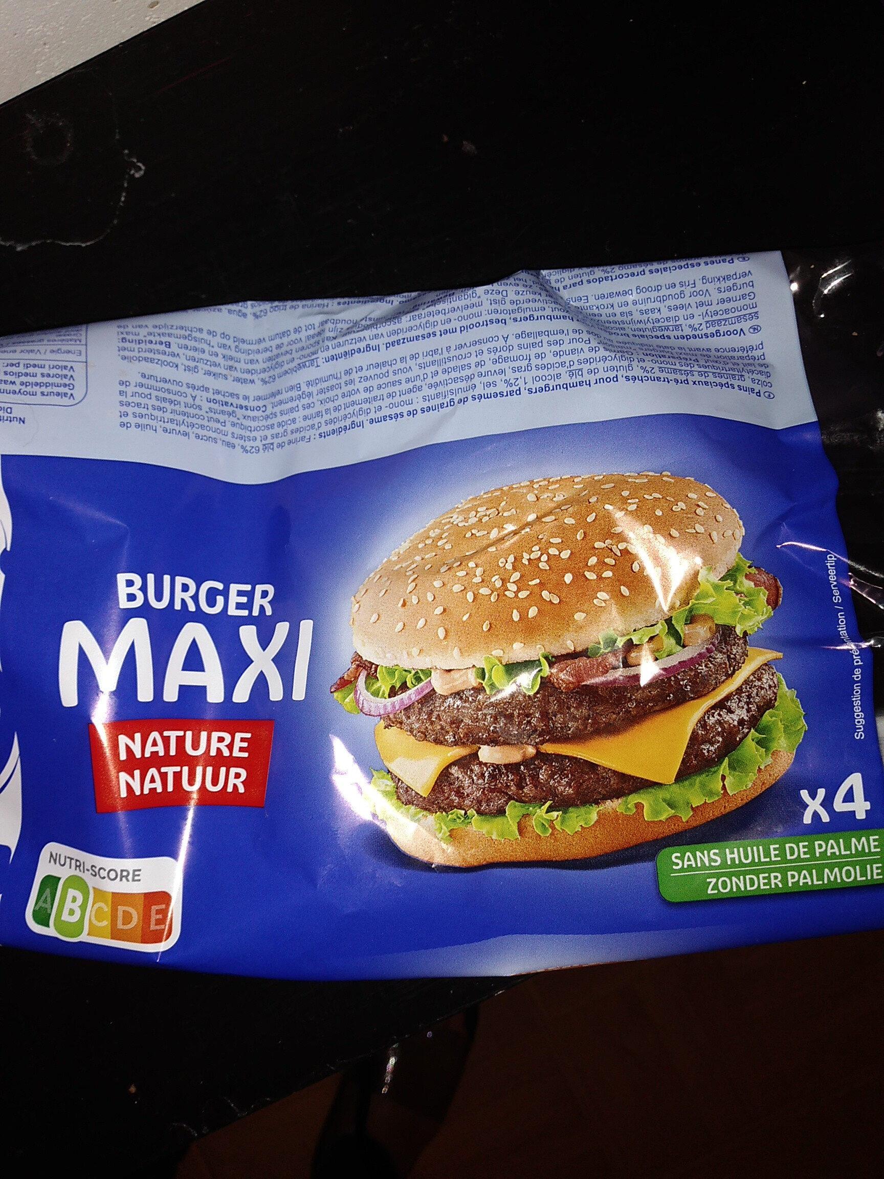 Maxi Burger - Product - fr