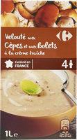 Velouté aux  Cèpes et aux Bolets à la crème fraîche - Product