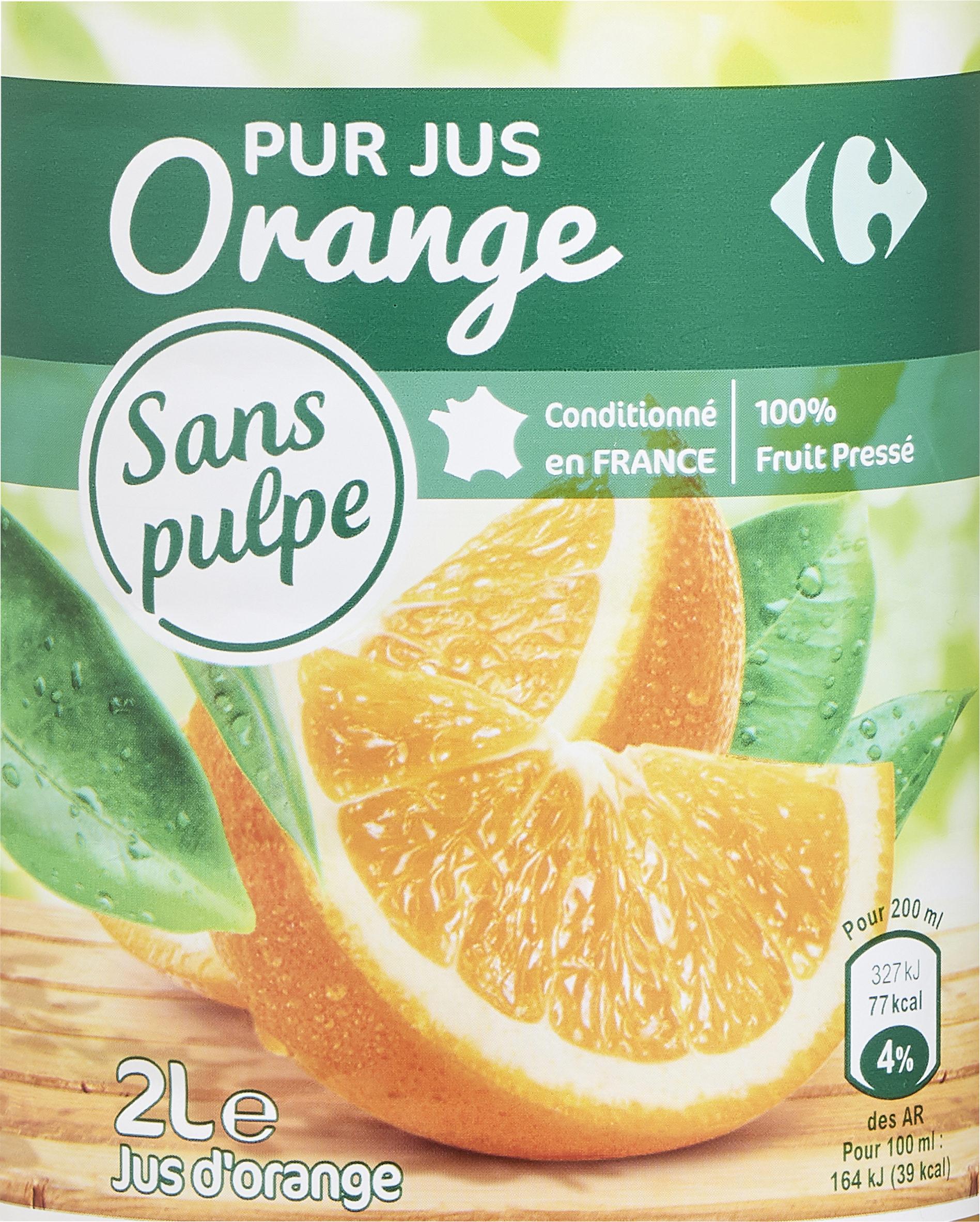 PUR JUS Orange pressée - Product - fr