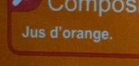 PUR JUS Orange pressée - Ingrediënten - fr