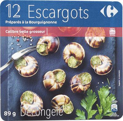 12 Escargots Préparés à la Bourguignonne - Product - fr