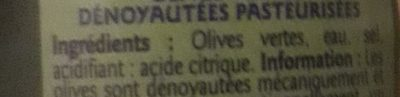 Olives - Ingredients - fr