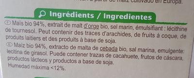 Cornflakes - Ingrédients - fr