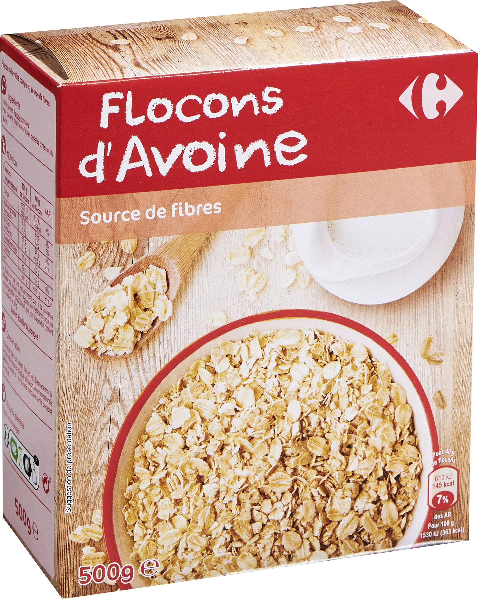 Flocon d'avoine - Prodotto - fr