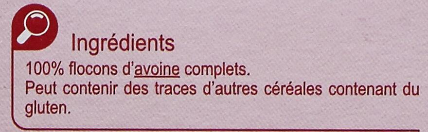 Flocon d'avoine - Ingredienti - fr