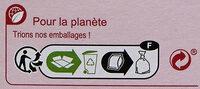 Flocon d'avoine - Istruzioni per il riciclaggio e/o informazioni sull'imballaggio - fr