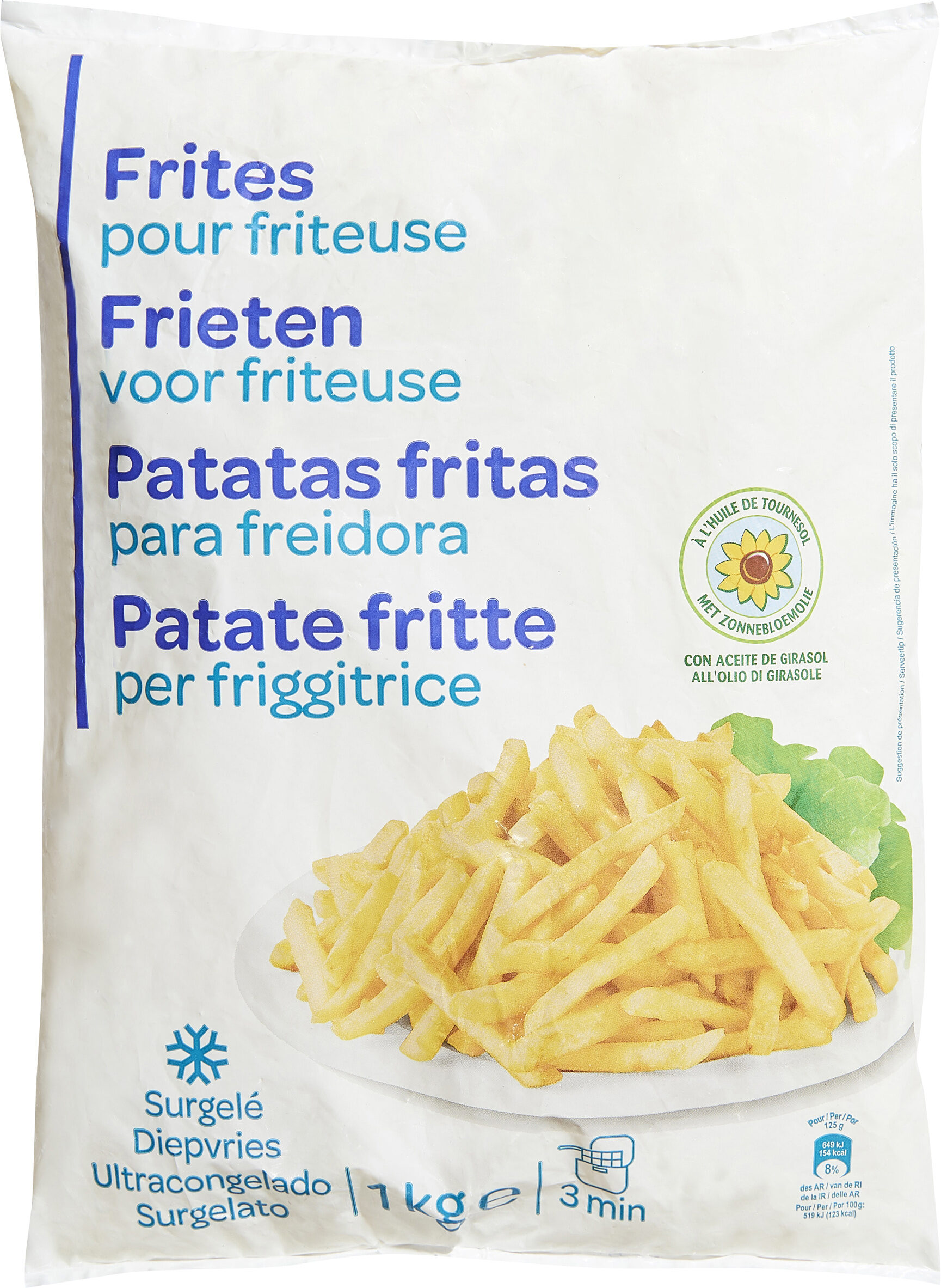 Frites Pour friteuse - Product - fr