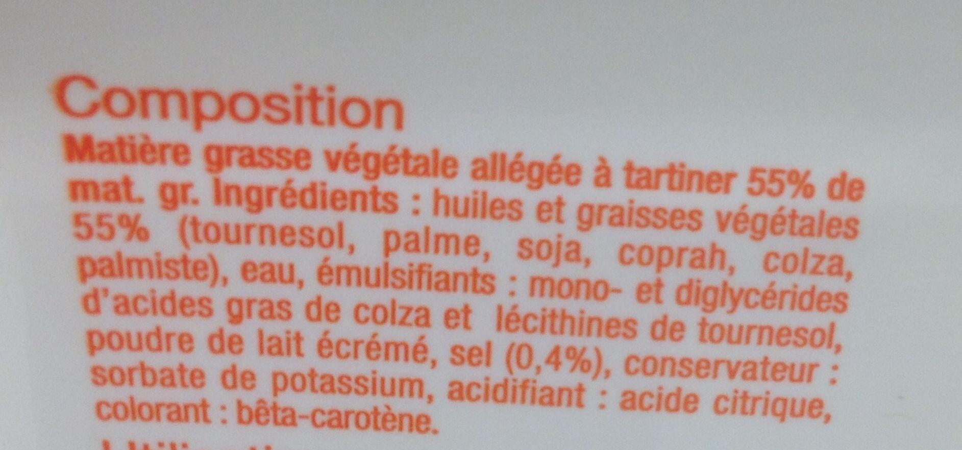 Matière grasse végétale - Ingredienti - fr