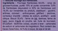 Fines gaufrettes - Ingrediënten - fr