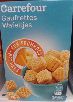 Gaufrettes aux Fromages - Product - fr