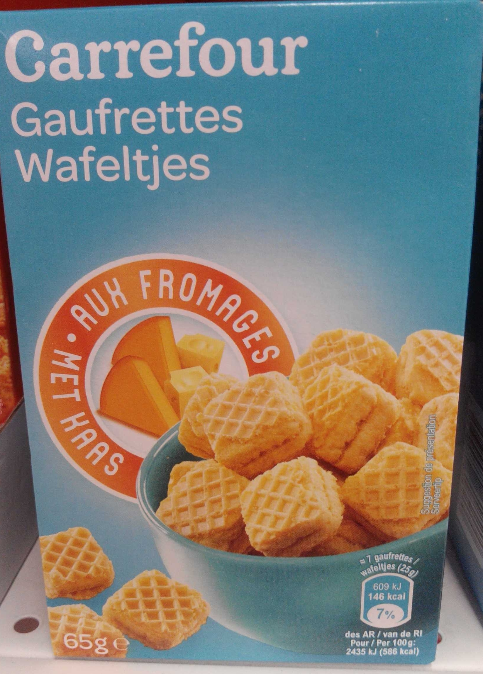 Gaufrettes aux Fromages - Product