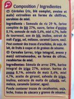 Miel Numberz - Carrefour Kids - Ingredients