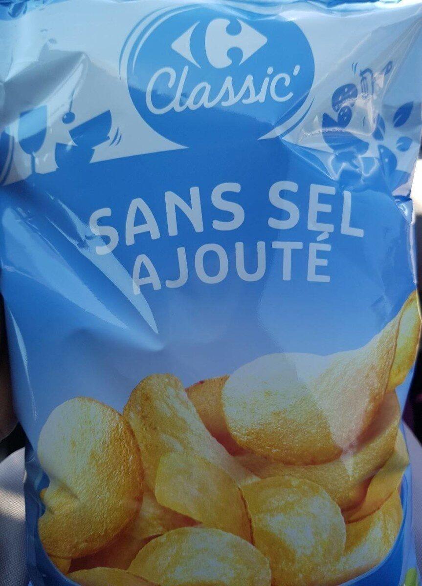 Chips sans sel ajouté - Prodotto - fr