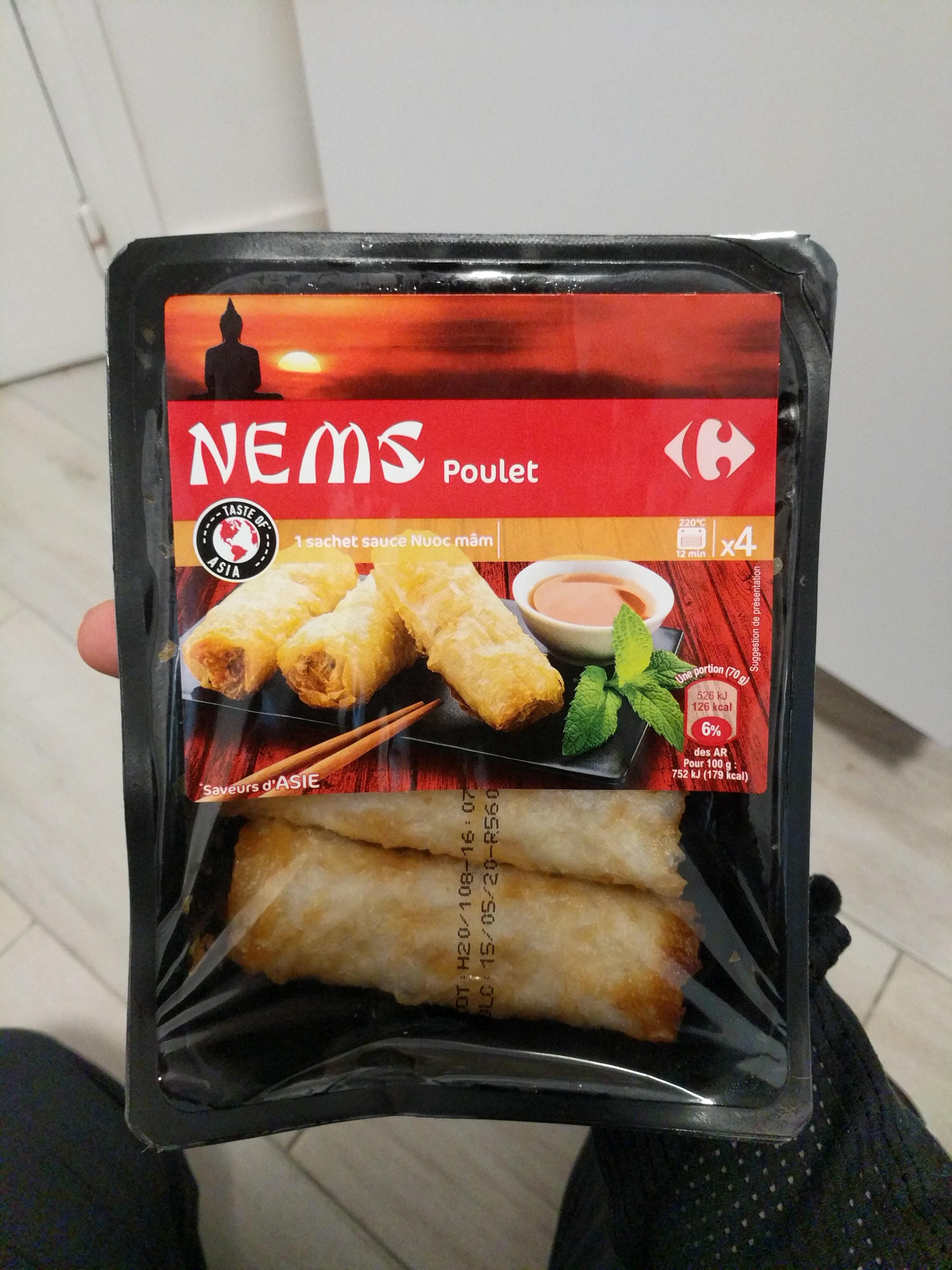 Nems poulet - Produit - fr