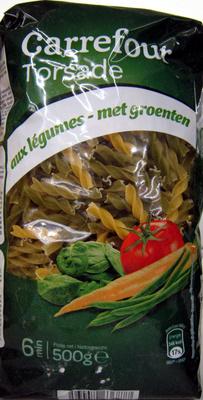 Torsade aux légumes - Produit