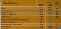 Brownies Noix de Pécan - Nutrition facts