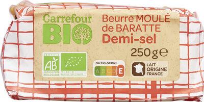 Beurre moulé de baratte Demi-sel Bio - Produit - fr
