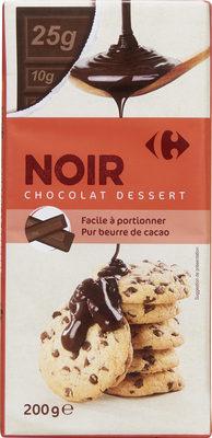 Noir chocolat dessert - Product