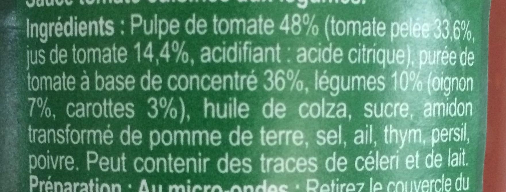 Napolitaine - Ingredients - fr