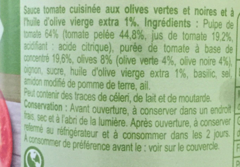Olives - Ingrédients - fr