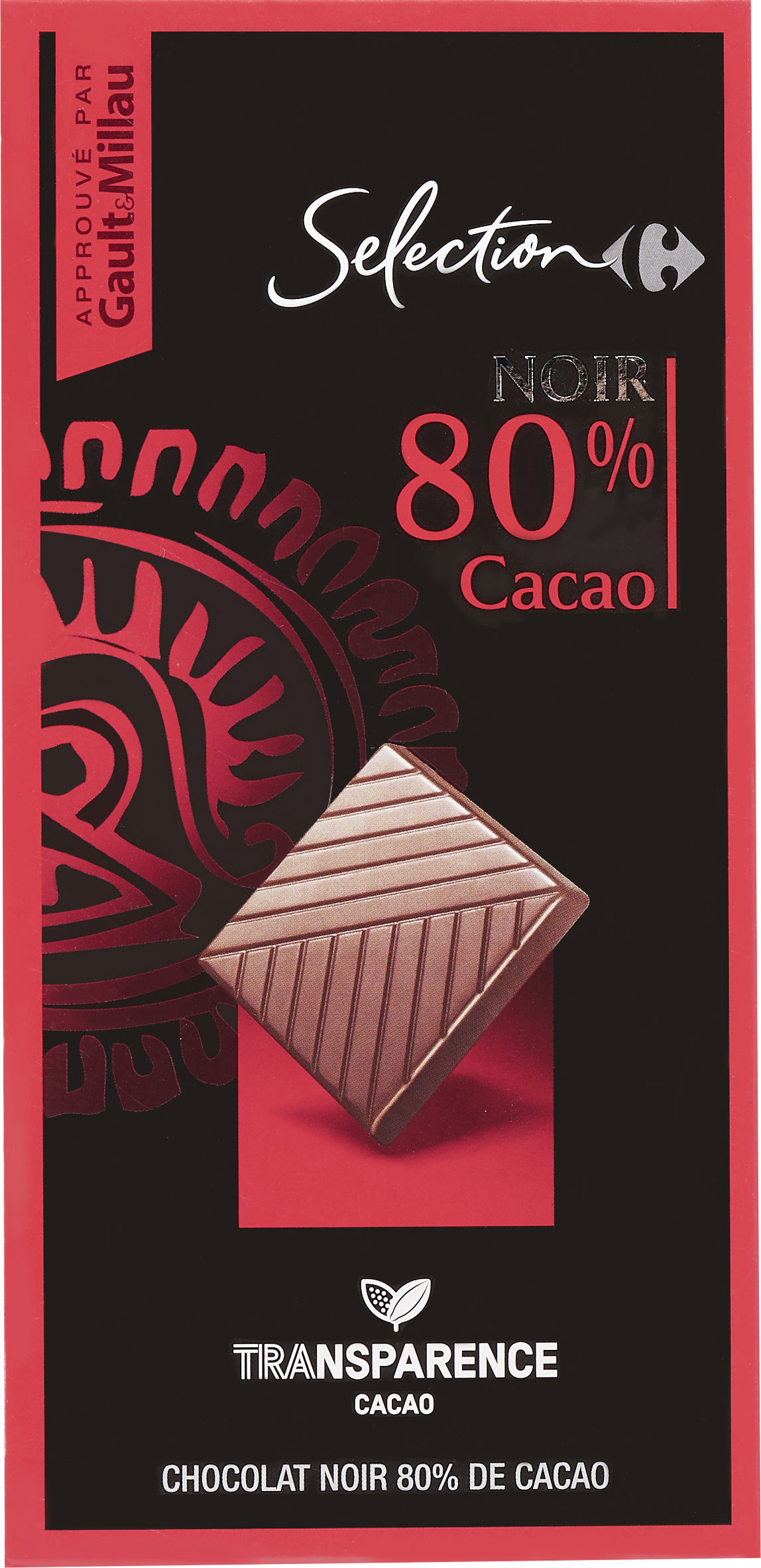 Chocolat Noir  80% cacao - Product