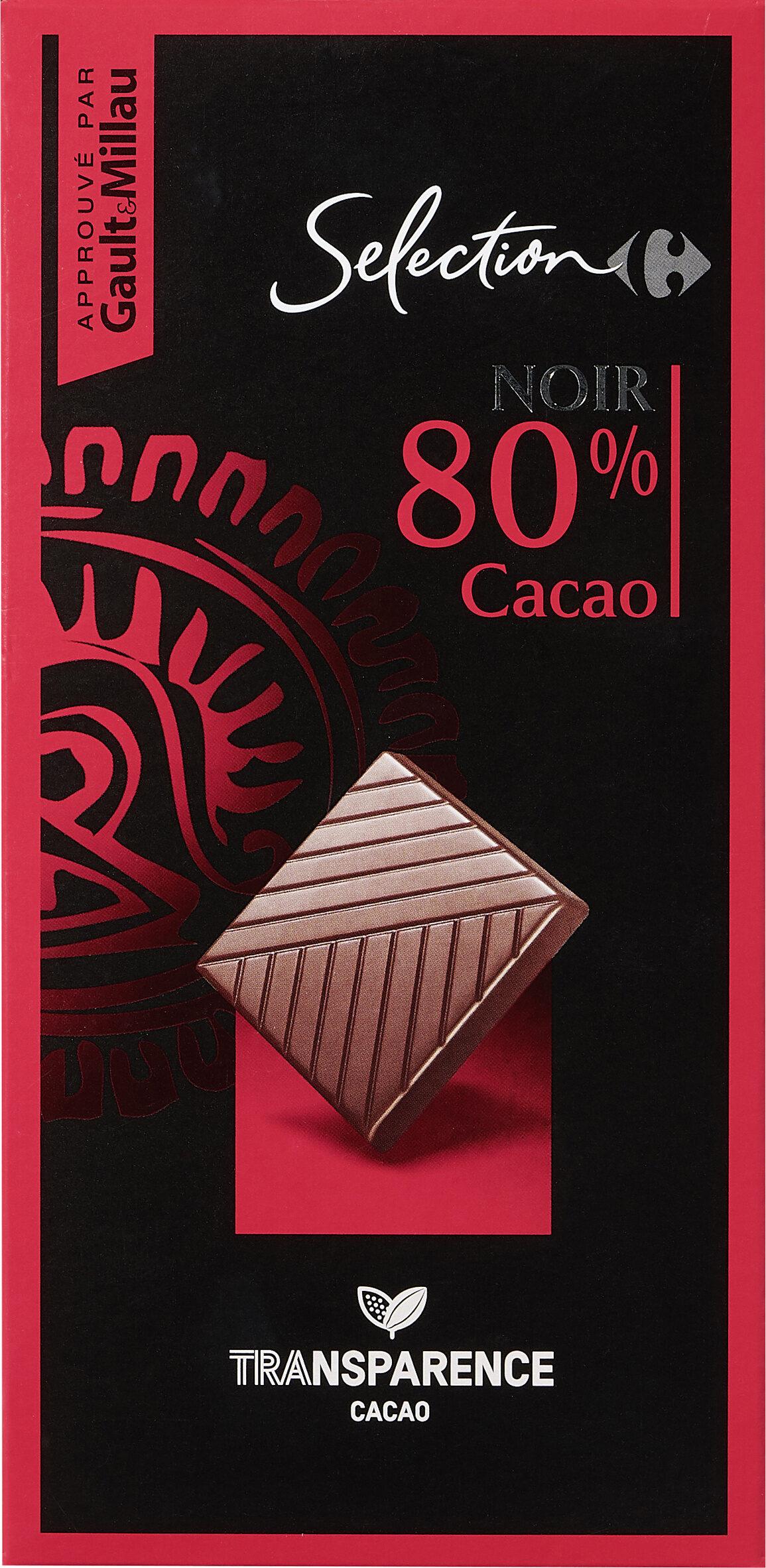 NOIR 80% Cacao - Prodotto - fr