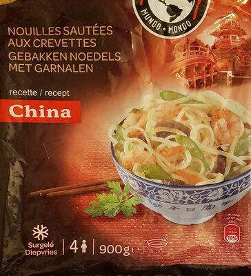Nouilles Sautées aux Crevettes - Produit