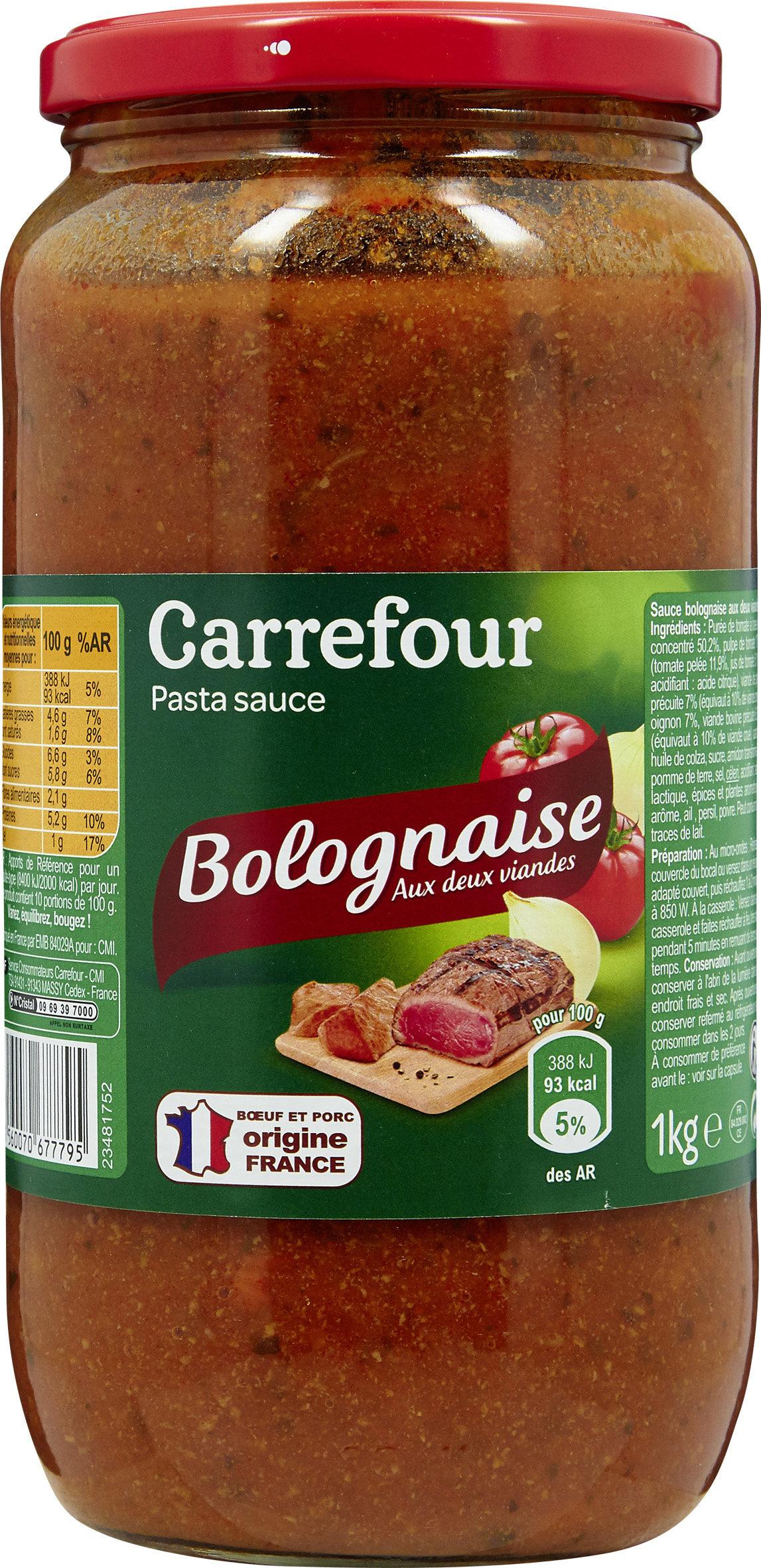 Bolognaise - Product - fr