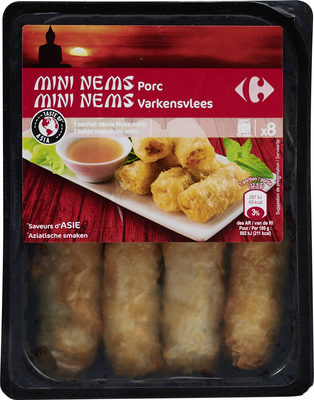 Mini nems porc - Product
