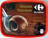 Crème glacée Chocolat avec des copeaux de chocolat Maxi format Carrefour - Product