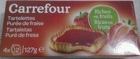 Tartelettes Purée de Fraise - Product - fr