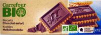 Biscuits chocolat au lait - Producto - fr