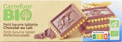 Biscuits chocolat au lait - Product - fr