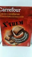 X'trem cacao y avellanas - Product - es