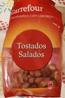 Cacahuetes tostados salados - Producto - es