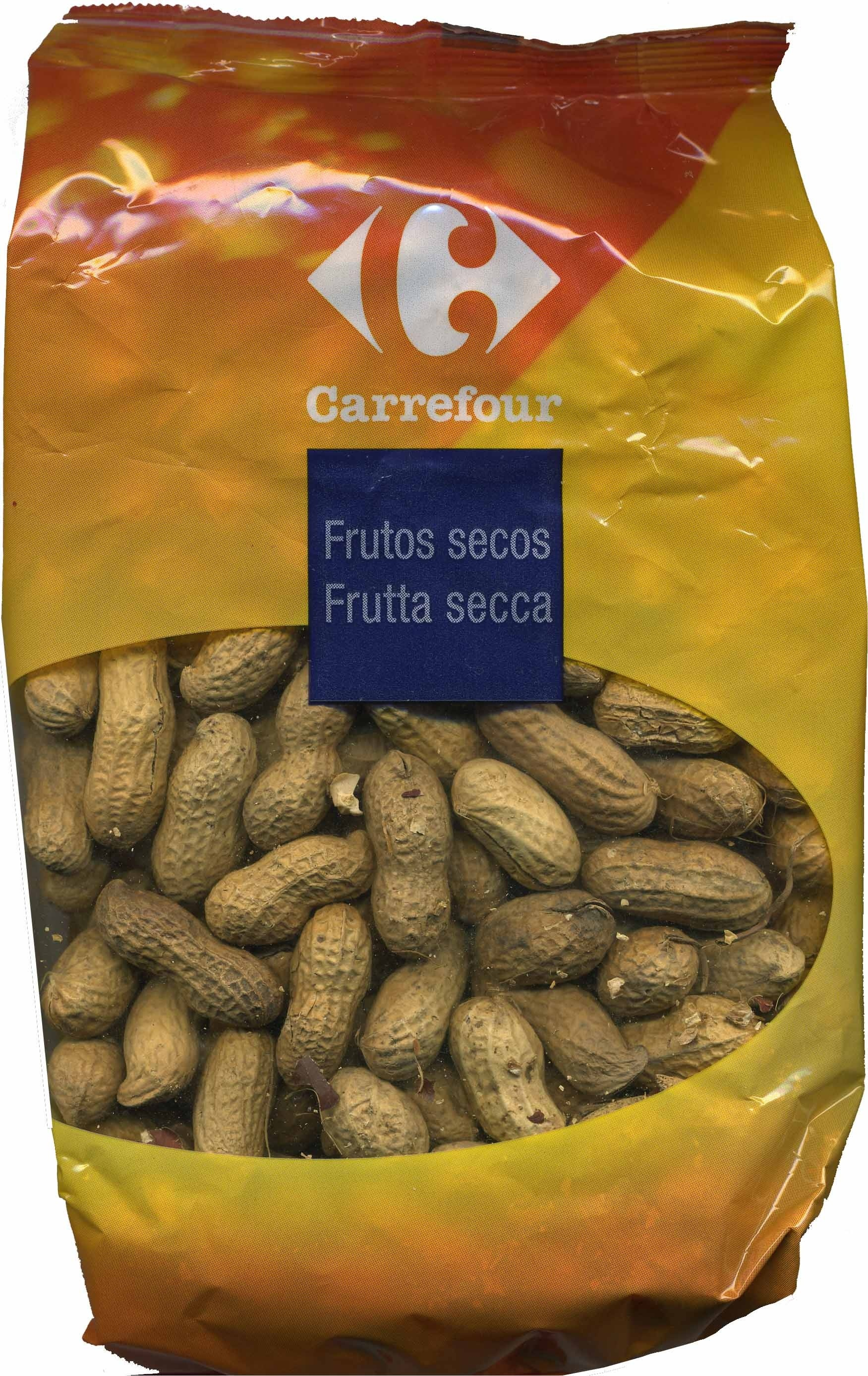 Cacahuetes con cáscara tostados - Producte - es